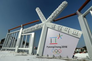 PYEONGCHANG-GUN, SOUTH KOREA - JANUARY 21: Preparations continue ahead of the Pyeongchang 2018 Winter Olympics on January 21, 2018 in Pyeongchang-gun, South Korea. (Photo by Richard Heathcote/Getty Images)